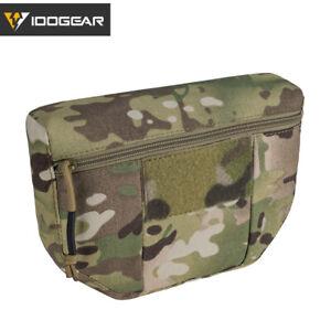 IDOGEAR Tactical Armor Carrier Drop Pouch AVS JPC CPC Pouch Waist Bag EDC Army
