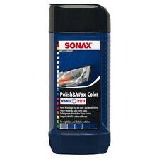 SONAX Polish & Wax Colore Nano Pro lucidatrice auto di colore blu