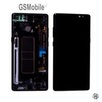 Original Display Pantalla LCD Touch Frame Samsung Galaxy Note 8 N950F Negro