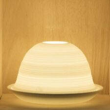 Tea Light/Tealight Holder ~ Nordic Lights ~ STRIPE (2) ~ Ceramic/Porcelain