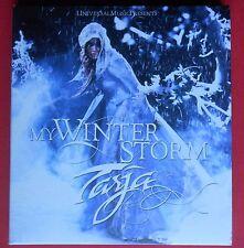 digipack cd + dvd tarja turunen tarya taria my winter storm i walk alone oasis v
