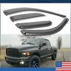 For Dodge Ram 1500 2500 3500 02-08 Vent Rain Guard Cover Window Visors Black Us