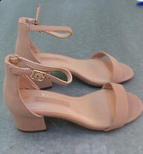 New Dorothy Perkins Camel Saint Block Heel Sandal - Size 3 - 6