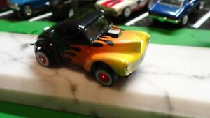 Classic  t-jet body / 1941 willys / black with flames !!! ( NEW )