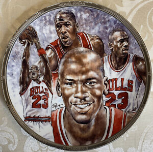Michael Jordan 1991 Sports Impressions NBA Collectors Plate Limited Edition B3