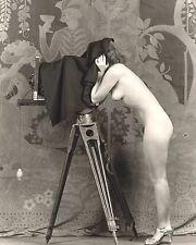 Vintage Nude Women Picture 8X10 New Fine Art Print Photo Antique Old Burlesque