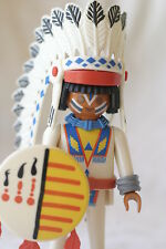 Playmobil Indian chief #3876 Male Klicky