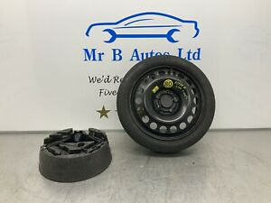 """VAUXHALL ASTRA H MK5 VXR SPACE SAVER 16"""" SPARE WHEEL TYRE 115/70R16 And Tool Kit"""