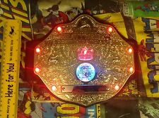 WWE MATTEL 2010 WWF WORLD HEAVYWEIGHT TITLE BELT CHAMPIONSHIP LIGHTS & SOUNDS