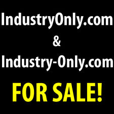 IndustryOnly.com & Industry-Only.com Premium Domain Names