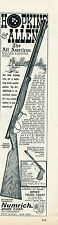 1966 Print Ad of Hopkins & Allen All American Model Muzzle Loading Rifle