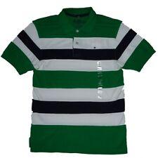Tommy Hilfiger 100% Baumwolle Gestreifte Jungen-T-Shirts,-Polos & -Hemden mit Kurzarm-Ärmelart