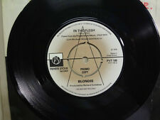 "BLONDIE:In The Flesh-X Offender-U.K. 7"" 77 Private Stock Records LTD. PVT-105 DJ"