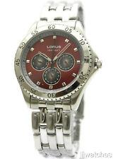 New Lorus Multi Function Day Date Men Dress Watch 44mm LR0727T