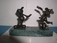 Mickey Mouse Minnie  Mouse Bronze Disney LE of 17/75 Matched Numbered set