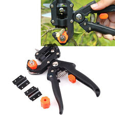 Fruit Tree Grafting Tools Scissors Secateurs Vaccination Knife Cutting Pruner RM