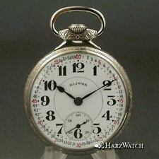 ILLINOIS - BUNN SPECIAL - 16 Size  Antique Pocket Watch 48 mm ca. 1924