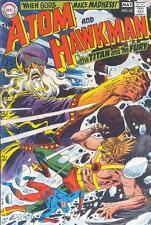 Atom And Hawkman #42, F, Joe Kubert cover, Dc Comics 1969