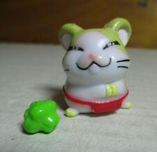 Hamtaro Ham-Ham Hamster Howdy Mini Figure w/ Broccoli Hasbro XLC 8