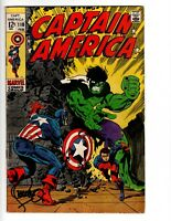 Captain America #110 (Feb 1969, Marvel) Signed by Jim Steranko