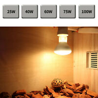 reptil lámpara de calefacción Luz Mascota Uva Calor Emisor Bombilla Calentador