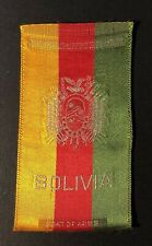 Vintage c1910 Bolivia Coat of Arms Cigarette Silk