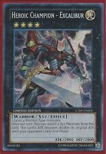 YuGiOh CT09-EN002 Heroic Champion - Excalibur Super Rare Card