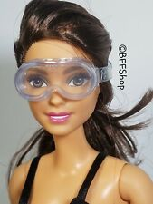 MATTEL CLEAR SAFETY GLASSES BARBIE SCIENCE LAB CHEMISTRY ACCESSORY PLAY PRETEND