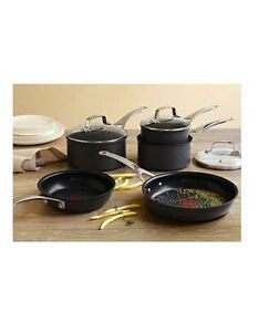 Brand New - Jamie Oliver by Tefal E905S544 5 Piece Anodised Induction Cookware