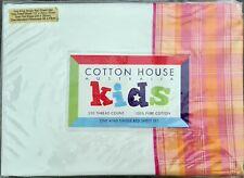 Playtime Girls Sheet Set by Cotton House Kids. 100% Cotton. 250TC. King Single