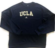 UCLA Bruins Adidas 2XL Climawarm Pullover Navy Blue Embroidered Sweatshirt