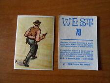 figurina WEST n.79 - ed. EDIS - completa di velina