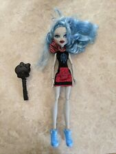 """Monster High 11"""" Doll GHOULIA YELPS SCARIS CITY OF FRIGHTS Brush Lot"""
