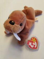 Ty Beanie Baby Tusk the Walrus (With Tuck Swing Tag) MWMT