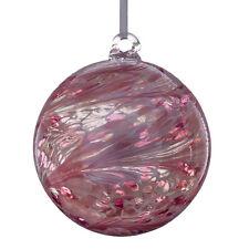 L'amicizia di vetro o STREGHE Ball, 15 cm rosa pastello da Sienna VETRO