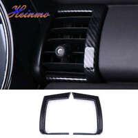 PUNGDUNK Car Door Handle Cover Trim For BMW MINI Cooper 3DR F56 Carbon Fiber Style Interior decoration