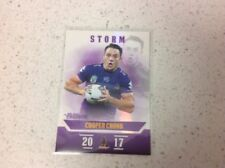 Cooper Cronk Modern (1970-Now) Era Single NRL & Rugby League Trading Cards