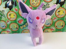 "Pokemon Center Japan Espeon Plush 7"" Pokedoll 2012 i Love stuffed animal figure"