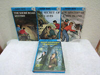 Lot of 4 The Hardy Boys Mysteries by Franklin W. Dixon Hardback Book Series