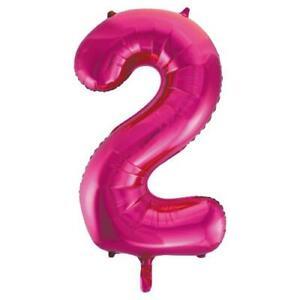 Jumbo 2 Foil Balloon Helium 34'' Pink