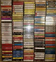 LOT OF 184 RARE CLASSICAL CASSETTE TAPES MOZART BEETHOVEN OPERA BACH MORE LOOK!