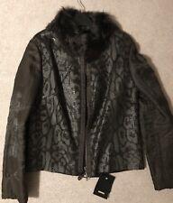 BNWT Shearling/ Alpaca Jacket