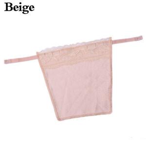 Women Sexy Cami Secret Lace Clip-on Mock Camisole Bra Overlay Modesty Panel   ca