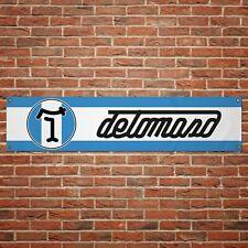 De Tomaso Banner Garage Workshop PVC Sign Vintage Track Motorsport Display