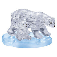 3D Crystal Puzzle - Eisbärenpaar 40 Teile