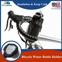 Cycling Bike Handlebar Cup Holder Bicycle Water Bottle Drink Hold MTB Insulation