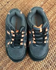 Carters Toddler Boys Size 7 M Grey Leather Upper Active Shoes