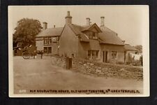 Old Whittington near Chesterfield - Old Revolution House - RP postcard