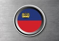 Liechtenstein flag sticker quality 7 year water & fade proof vinyl car ipad