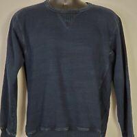 Vintage Double RL Ralph Lauren Pullover Sweater Size Medium Mens Crewneck Blue